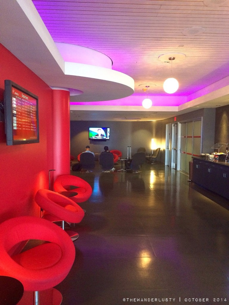 Virgin America Lounge